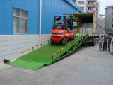 CE hydraulique Truck Unloading Ramps à vendre