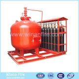 Sistema extintor del polvo seco de la alta calidad para la supresión de fuego
