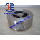 DIN/API het Roestvrij staal van de lente/de Klep van de Controle van het Wafeltje Wcb
