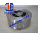 DIN/API de Klep van de Controle van het roestvrij staal/van het Wafeltje Wcb
