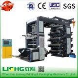 8개의 색깔 플라스틱은 부대 Flexographic 인쇄 기계를 전송한다
