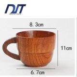Кружка чая оптовой изготовленный на заказ еды логоса безопасная деревянная