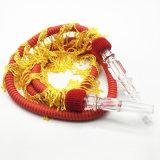 Шланг кальяна конструкции 1.5m красный резиновый Shisha дракона пожара (ES-HH-002-2)