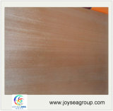 Modèle rouge de contre-plaqué de faisceau de peuplier de placage de noix