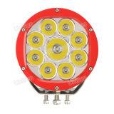 """12V 7 """"90W CREE LED linterna auto"""