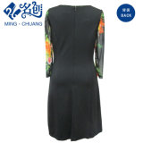 Dame-Form-Kleid mit langer Hülsen-Spitze