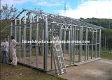 Structura de acero ligero fabricado vertió para vivir
