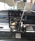 Máquina vertical del trazador del corte de la ropa