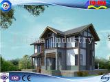 현대 가벼운 강철 구조물 조립식 별장 (FLM-H-020)