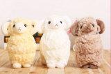Jouet bourré blanc mignon de moutons de jouet animal mou de peluche