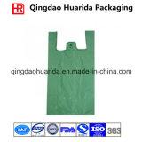 Изготовленный на заказ хозяйственная сумка напечатанная логосом пластичная для супермаркета