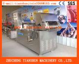 Máquina que fríe automática para las fritadas fritas