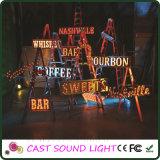 LED 3D Letter Sign para Casamento / Bar / Decoração de festa / evento