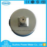 demi de type indicateur d'amorçage de dos d'acier inoxydable de 1.5inch-40mm de pression rempli par liquide