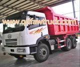 FAW 30 톤 6X4 고품질 340HP 팁 주는 사람 트럭