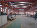 Armazém/oficina novos da construção de aço do painel do cimento da prova de incêndio do projeto