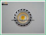 proyector de 85-265VAC Dimmable GU10 LED con la luz del LED para el reemplazo del halógeno de 25W 50W