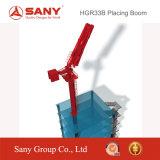 上るSany Hg3333mブームを置く