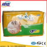 Tecido descartável barato fino super do bebê do tecido descartável quente do bebê da venda