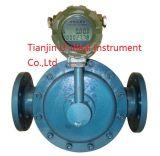Flusso diesel che misura il contatore meccanico ad ingranaggi ovale