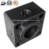 정밀도 Micromachining의 표준 CNC에 의하여 기계로 가공되는 시리즈 액압 실린더 부속