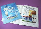 Impresión del librete de la impresión del catálogo de la puntada de montura