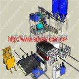 Producción resistente al fuego de la tarjeta del MGO de la máquina de la base de la puerta de Tianyi