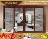 Zhizun Fabrik-Preis-ausgezeichnete Qualitätsaluminiumtüren für Hauptdekoration