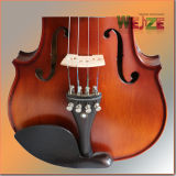 Violon à violon flammé de niveau moyen