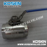 2PC Type Forged Bronze Ball Valve (Thread e interruptor Extremo)
