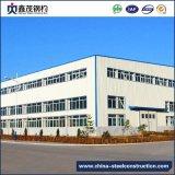 Preinstalled промышленное здание для Prefab дома стальной структуры (стальное здание)