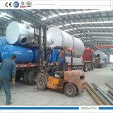 Maquinaria da pirólise de Shangqiu para o plástico e o pneu