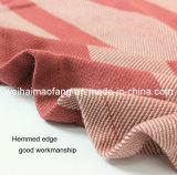 Coperta pura di linea aerea del cotone del tessuto della cialda