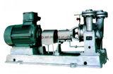 Y는 단단한 입자 순환 펌프 없이 두 배 흡입에 의하여 액화된 매체를 타자를 친다