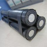 cabo aéreo de alumínio do cabo pendente de serviço de cabo do saco 1X50mm2