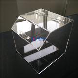 Coffre acrylique en gros de sucrerie avec l'épuisette