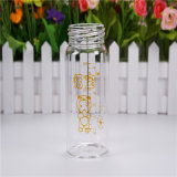 180ml Crystal Diamond Baby Glass Bottle con Rompono-Resistant Sleeve