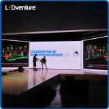 Visualizzazione di LED locativa dell'interno di cerimonie nuziali di colore completo