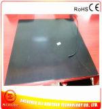 chaufferette en caoutchouc de silicones de noir de garniture de chauffage de l'imprimante 3D de 800*850*1.5mm