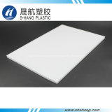 Panneau de toiture en polycarbonate revêtu d'UV avec 10 ans de garantie