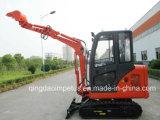Mini Excavator met Dieselmotor Yanmar