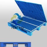 1200X1000X140mm RFID Plastic Pallets met Close Deck en 3 Runners