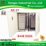 Le CE a réussi à thermostat automatique le grand incubateur automatique d'oeufs complètement automatique (KP-27)