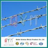 電流を通された金網または金網の塀またはQymの有刺鉄線の工場価格