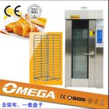 2014 Hot Sale Bakery Equipment Gas Bread Rotary Rack Oven (fabricant CE et ISO9001)