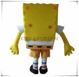 Costume superiore della mascotte di Emulational Squarepants molto popolare