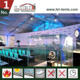 Weißes Farben-Zelt für temporäre Konferenz