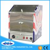 Máquina comercial do Showcase do aquecedor dos Nachos