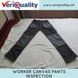 La tela di canapa dell'operaio ansima il servizio di controllo di controllo di qualità a Huangguang, Hubei