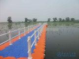 Puente pontón plástico de flotación